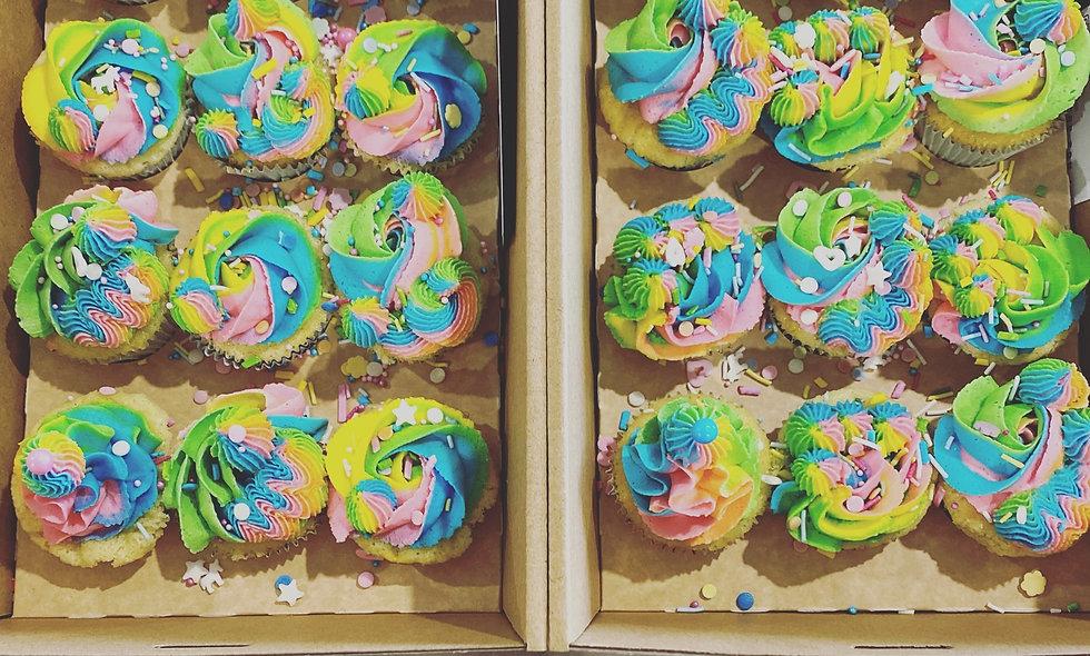 RAINBOW Cupcakes | 24PK