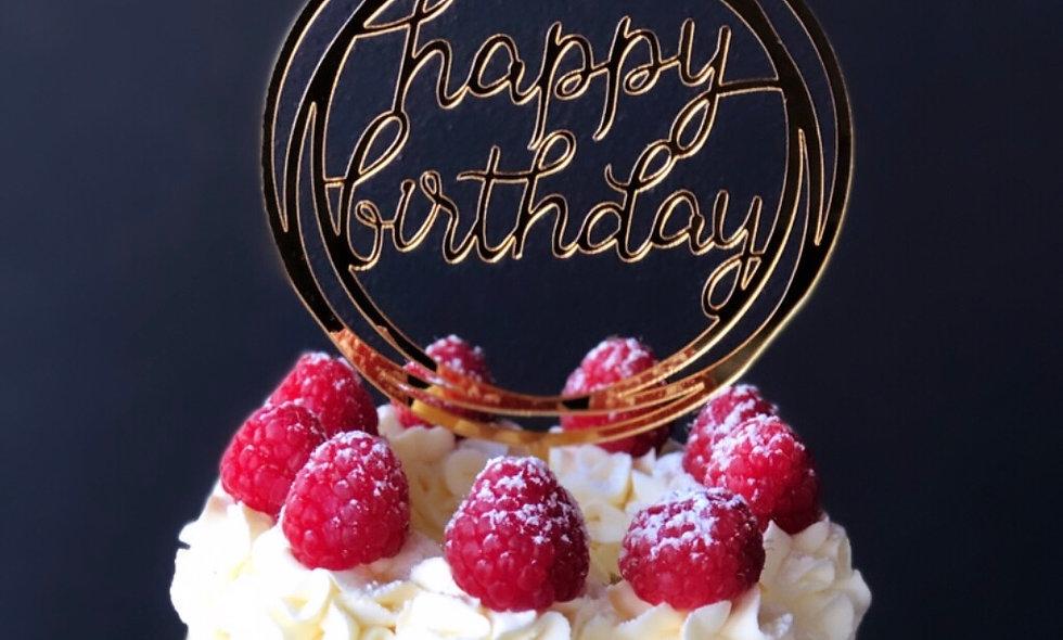 Topper - Happy Birthday