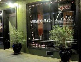 Leon Bistro front of restaurant
