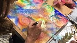 Watercolor is versatile.