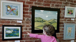 Art on display at Broadway Heights