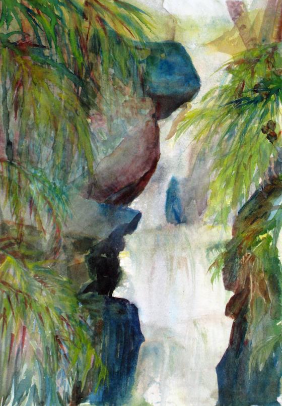Waterfall Hilo,Hawaii