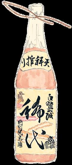 特別純米酒 白鷺の城 稀代 720ml