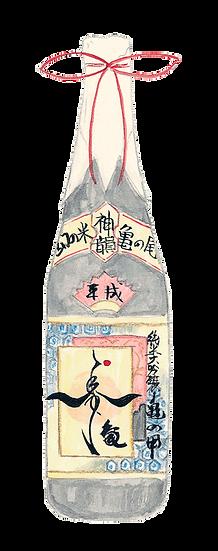 純米大吟醸 亀の甲 寿亀 神韻 720ml