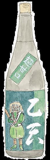 特別純米酒 名刀正宗 乙天 1.8L