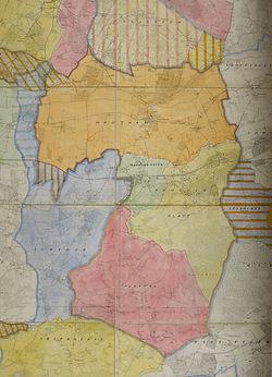Borough Green Area 1934 map