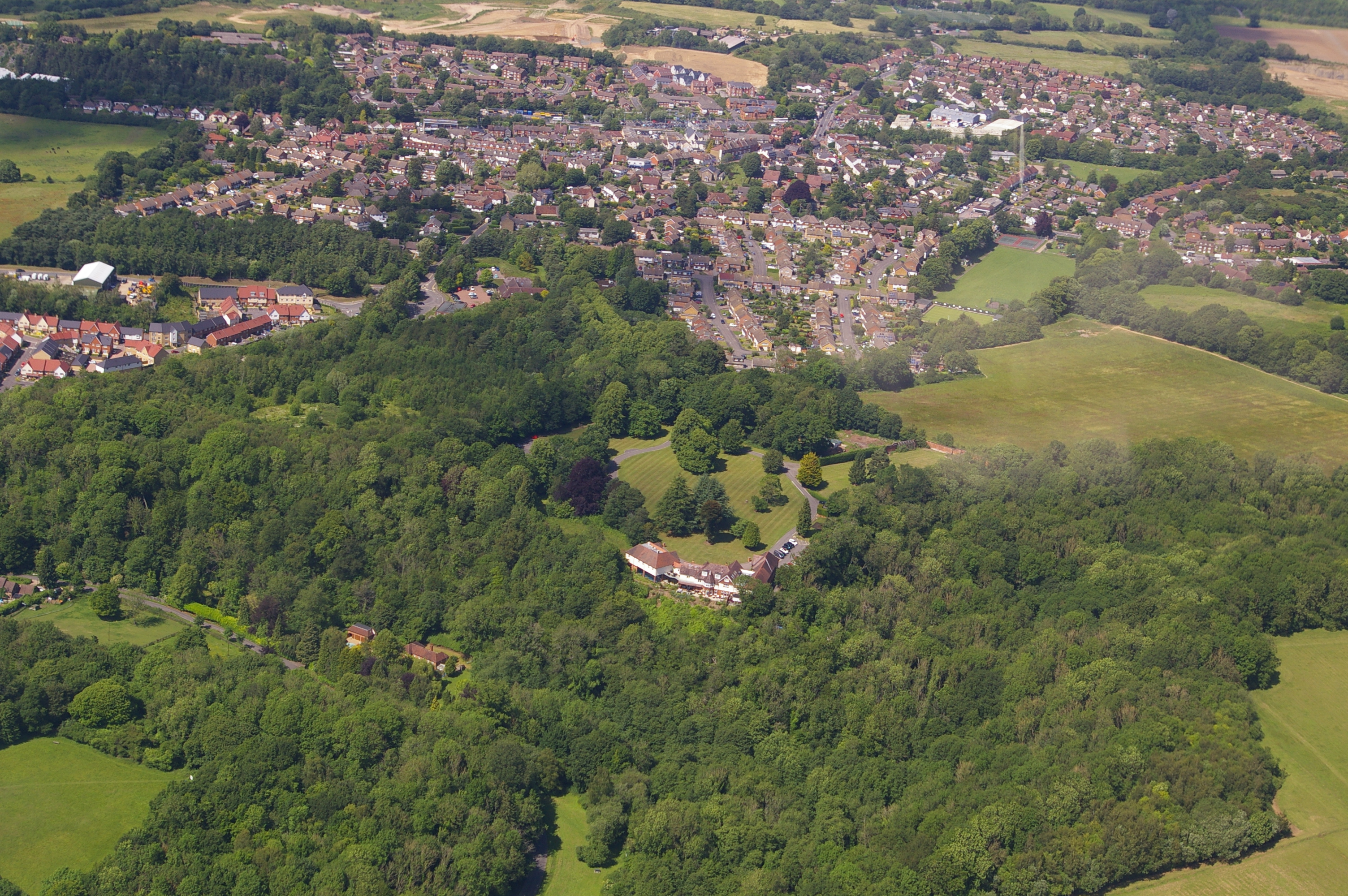 Aerial Borough Green