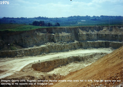 Borough Green Stangate Quarry 1976