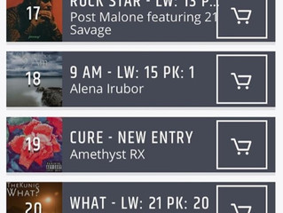 'CURE' Makes Top 25 Chart in Chicago
