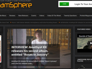 New Interview in Jamsphere Indy Music Magazine