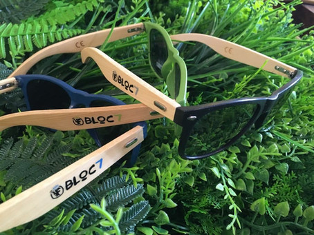 Les lunettes de soleil Bloc7 !