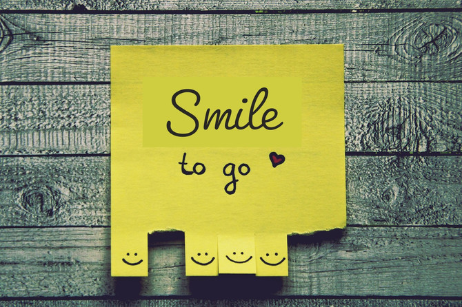 A Smile Goes On and On