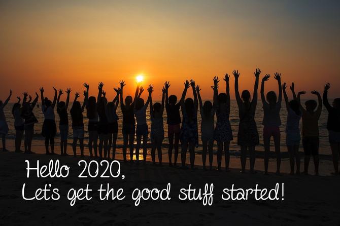 Start the New Decade Doing Good Stuff!