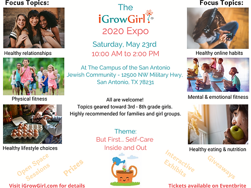 iGrow Girl 2020 Expo!