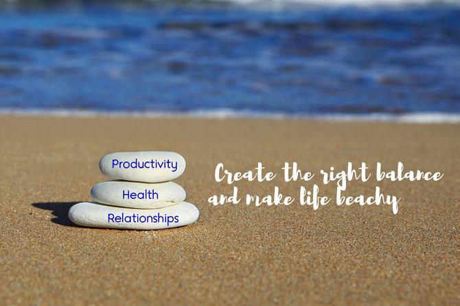 Make Your Days Balanced and Beachy