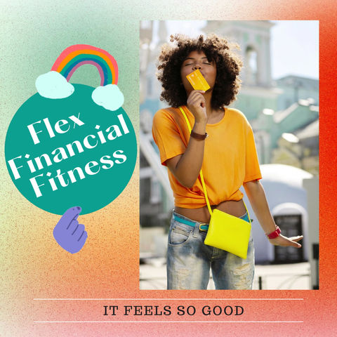 Flexing financial fitness feels so good!