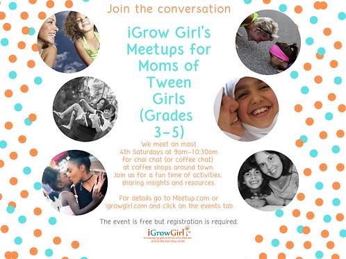 Meetups for Moms of Tween Girls