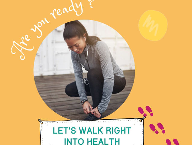 Walk right into health!