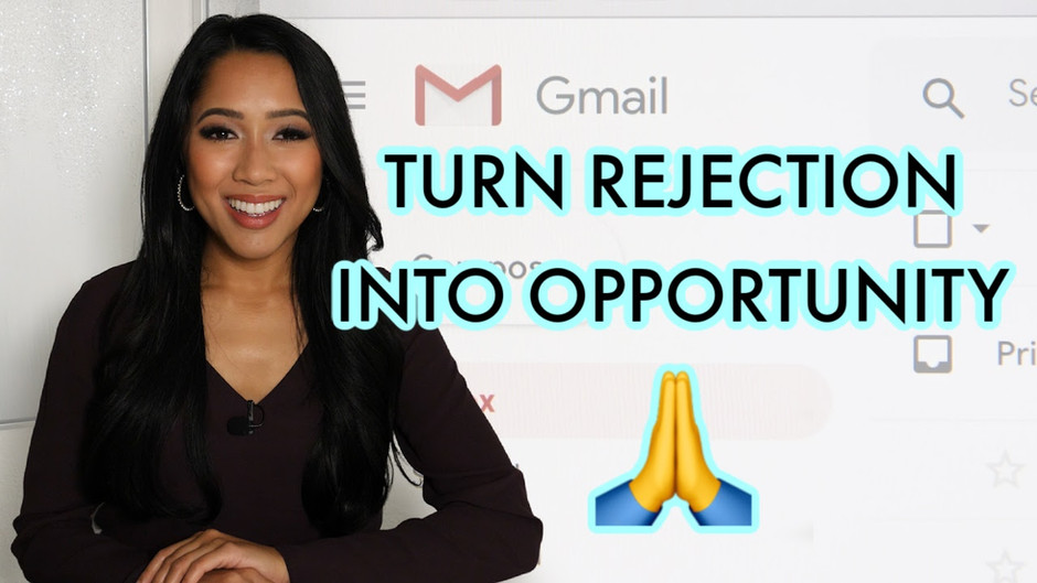 How to respond to a rejection email