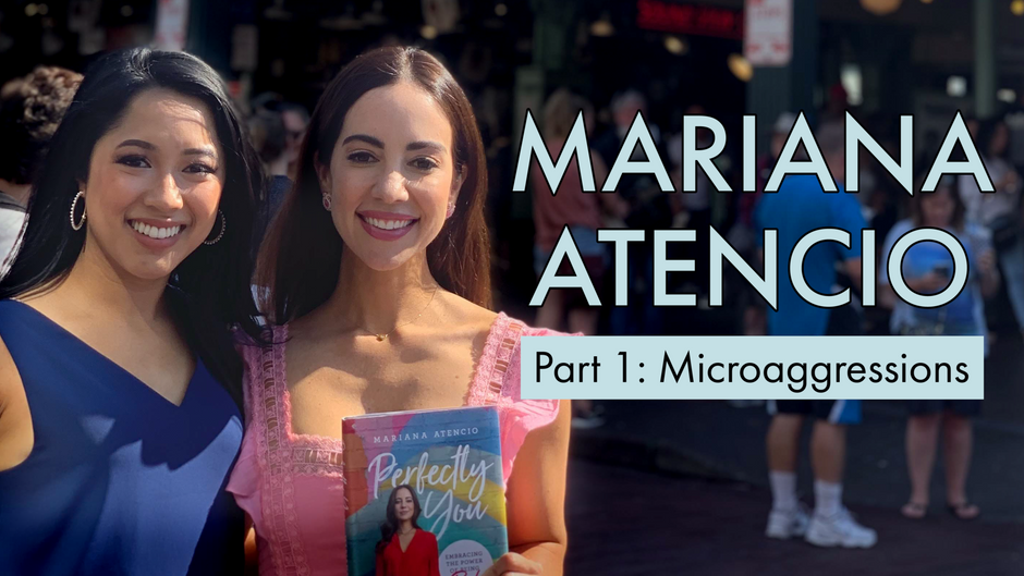 """""""Please don't look too Latina""""   Interview with Mariana Atencio"""