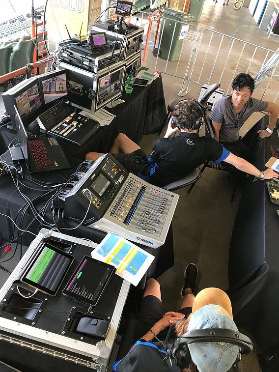 KIK EVENTS live production at TIO Stadium Darwin NT