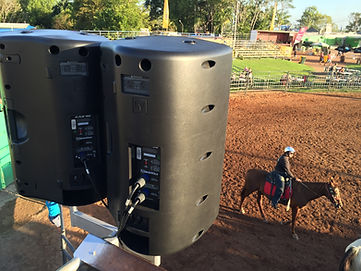 KIK EVENTS sound production for the Noonamah Tavern Rodeo