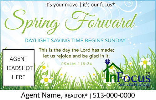 Daylight Savings - Spring Forward 2