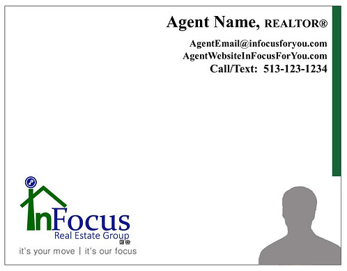 InFocus Personalized Agent Note Cards