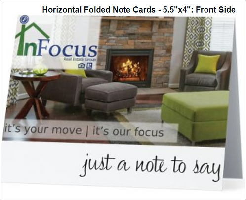 InFocus Personalized Just A Note Card