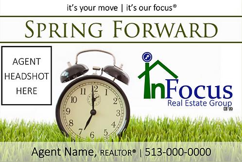 Daylight Savings - Spring Forward 1