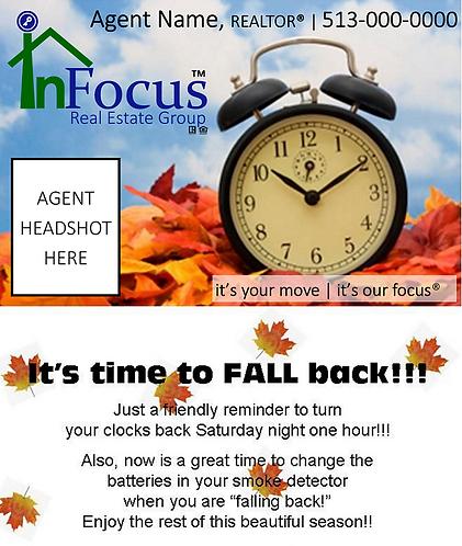 Daylight Savings - Fall Back 2