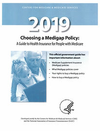 2019 Choosing a Medigap Policy Cover0916