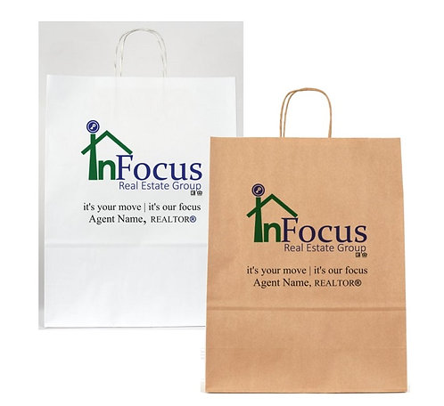 InFocus Personalized Gift Bags - Medium