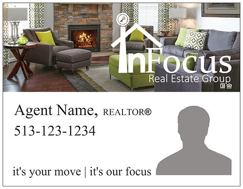 InFocus Personalized Magnet Postcards