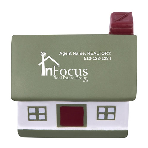 InFocus Personalized House Stress Reliever