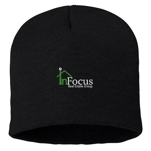 InFocus 10 in Knit Beanie