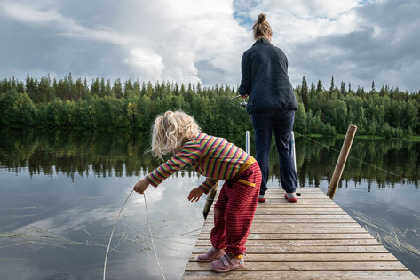 Fishing for perch