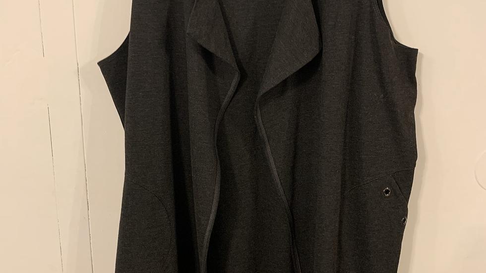 Gilet long noir taille 36