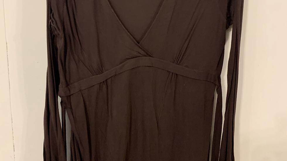 Robe marron taille 50-52
