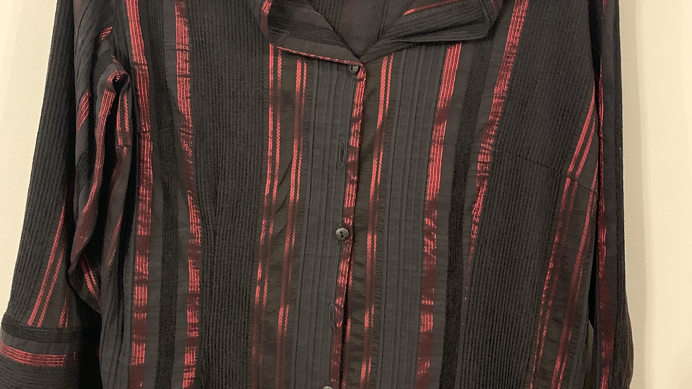 Chemise à rayures taille 48