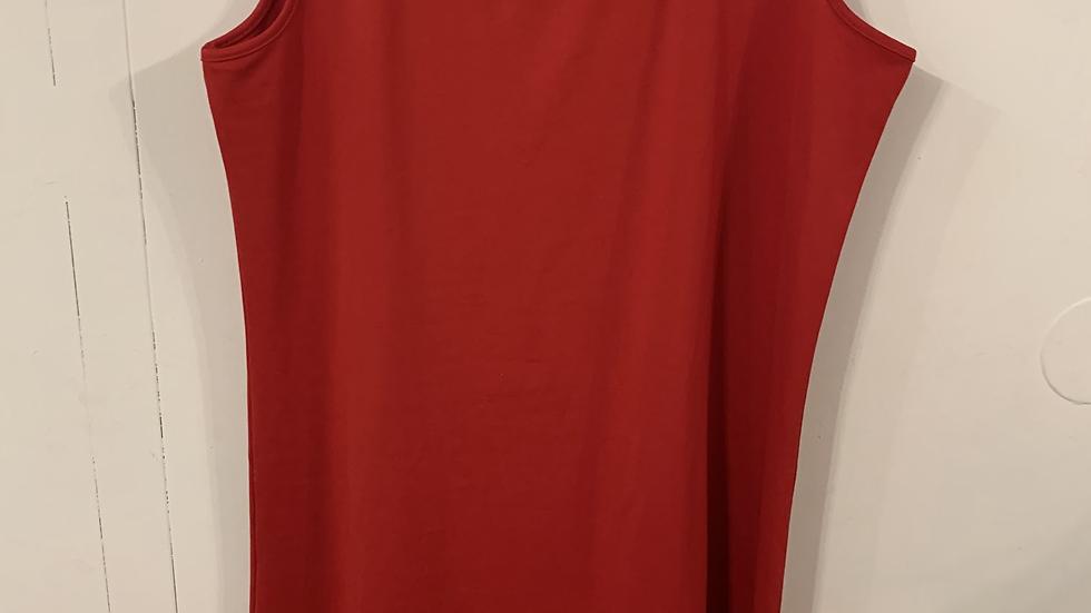 débardeur rouge taille 50