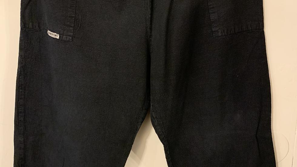 short mi long noir taille 50