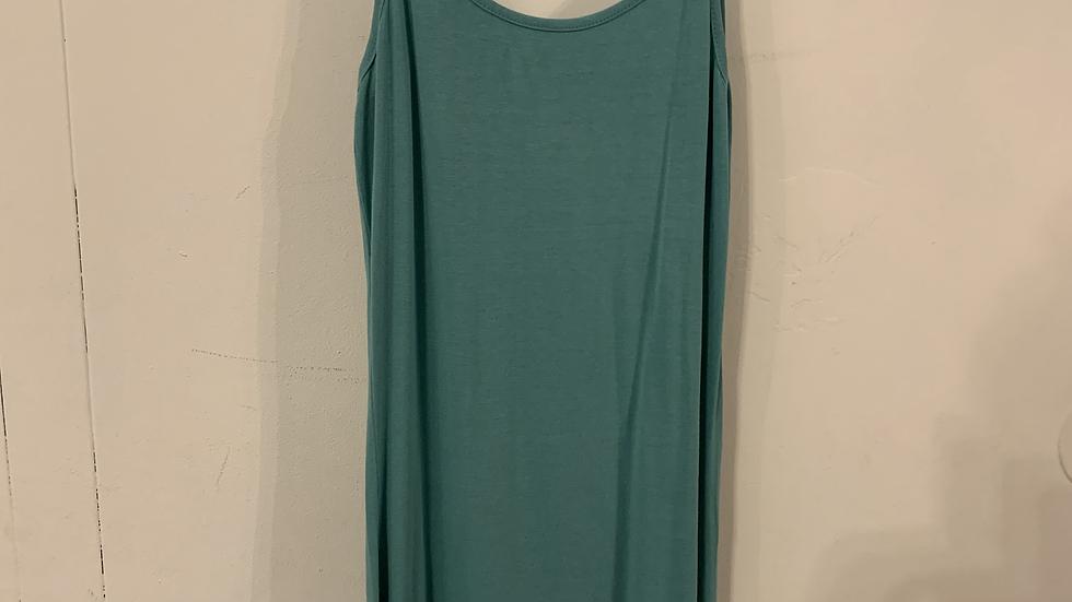 robe verte émeraude taille 46-48