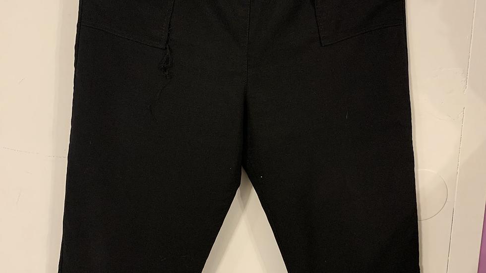 pantalon noir taille 48
