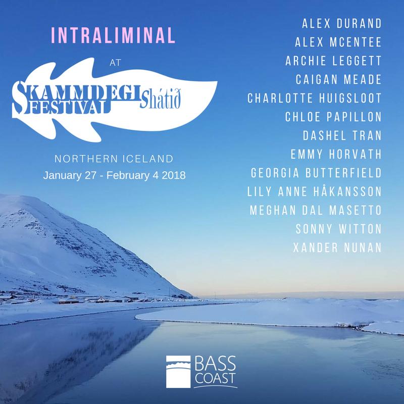 Skammdegi Exhibitions Poster