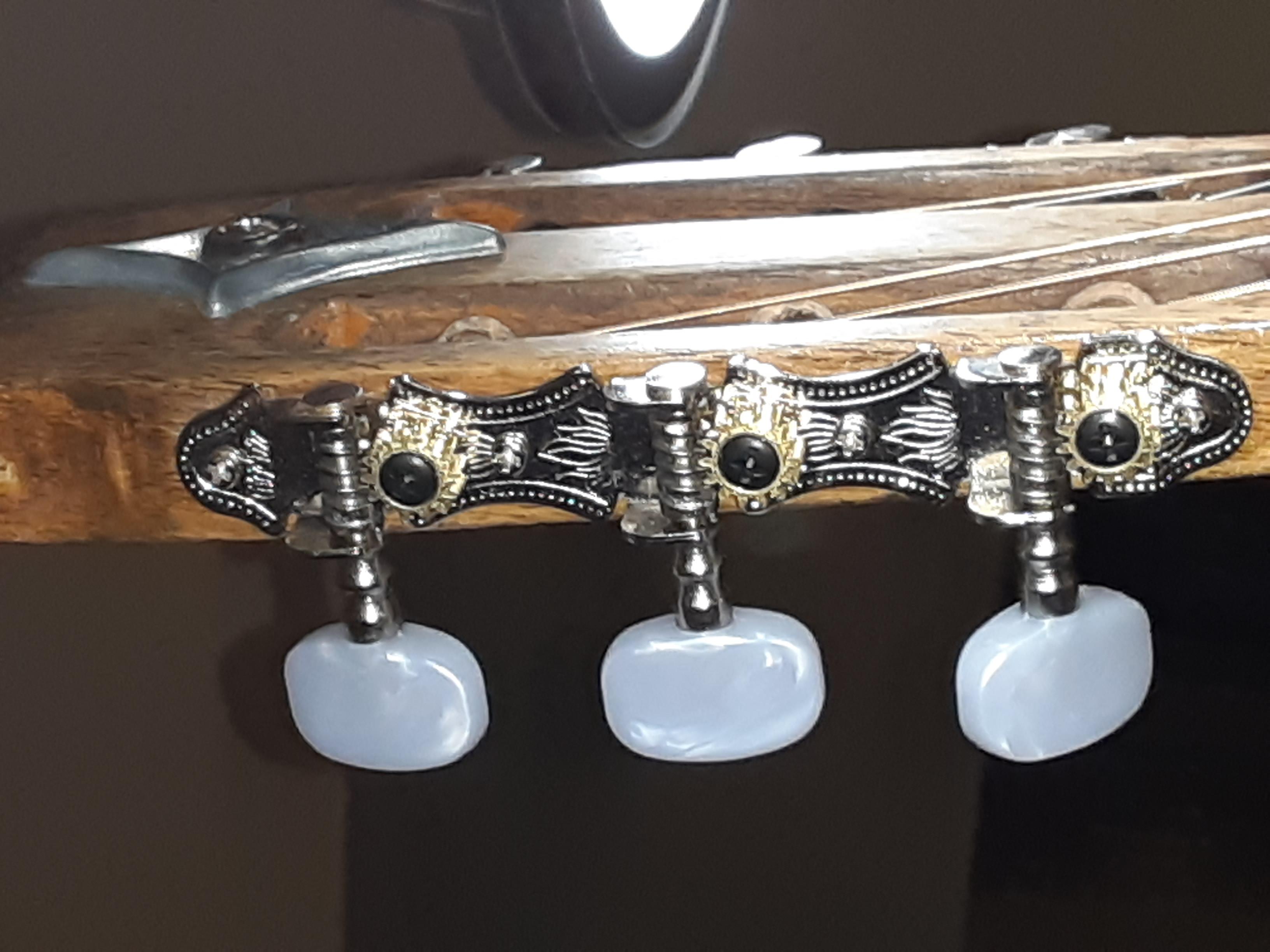 Pearl open gear tuners