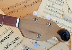Violin Scroll Accent