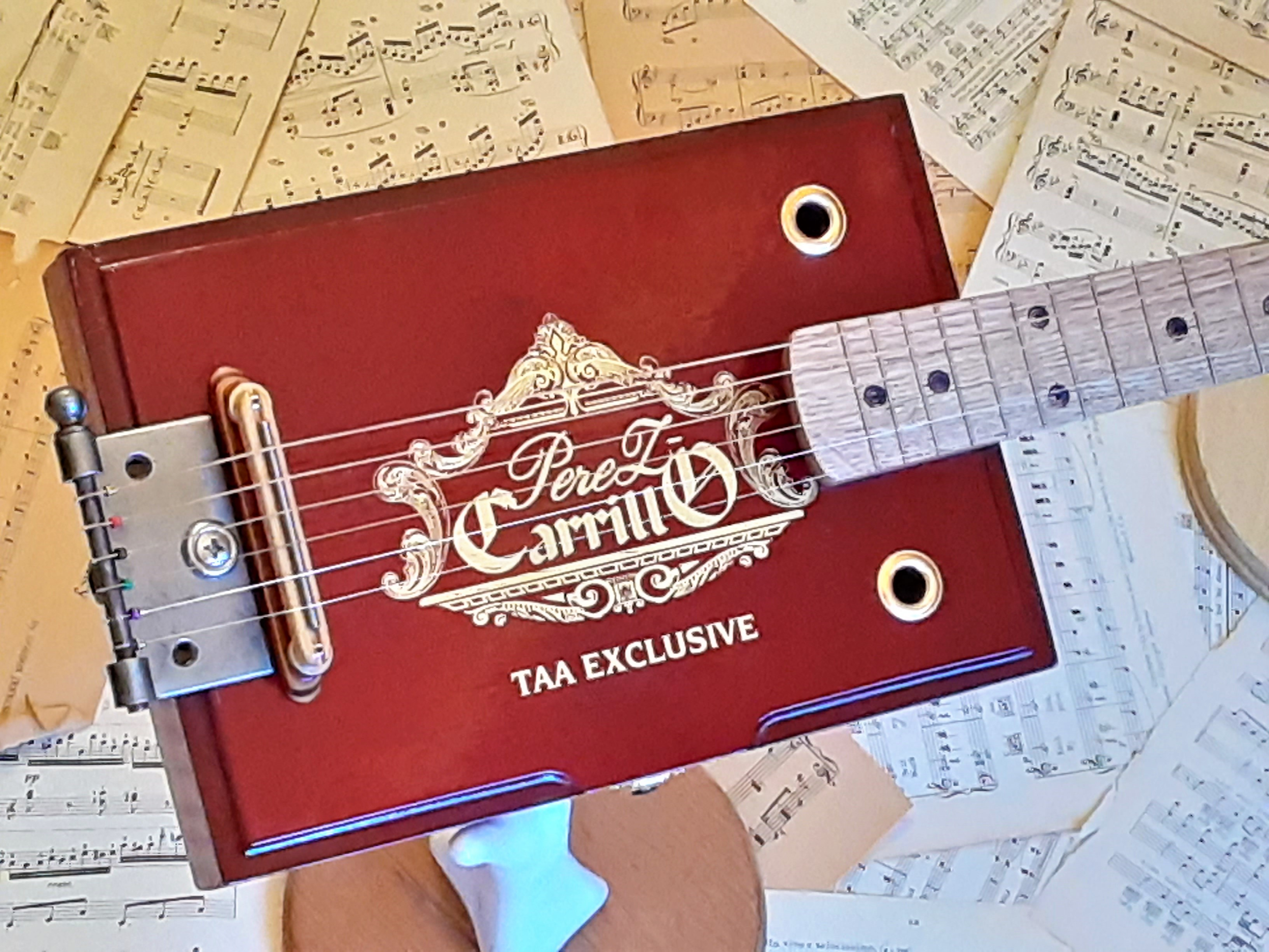Carillo Cigar Box Body