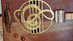 Brass Treble Clef Trivet