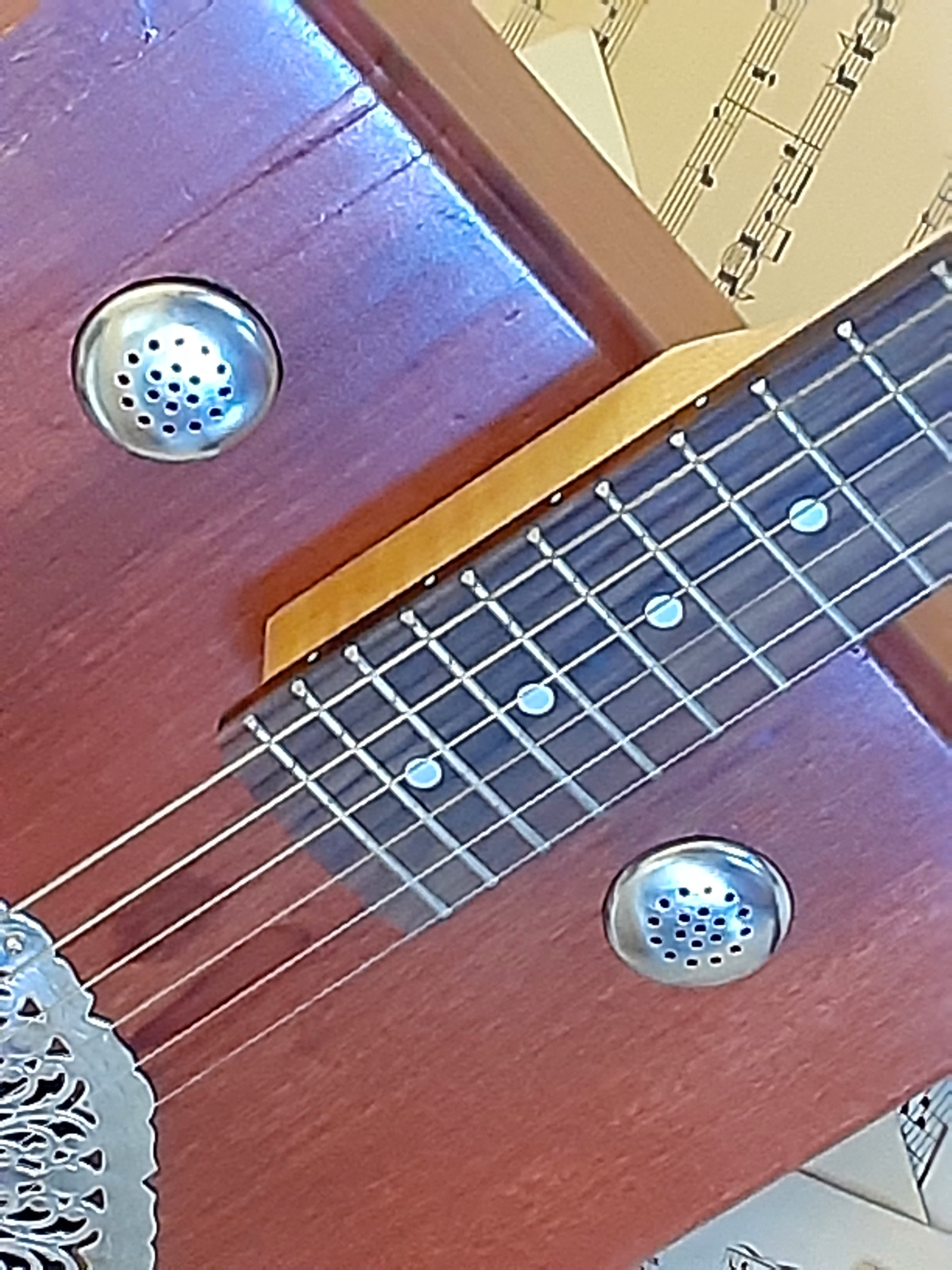 silver salt & pepper shaker tops for sound hole covers